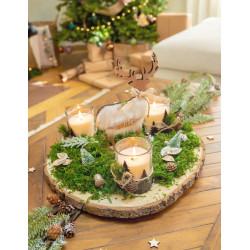 Momie (buste à poser) - animée, sonore et lumineuse - h. 30 cm
