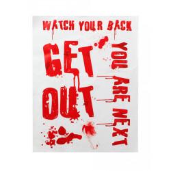 Déguisement indienne à franges bleues femme