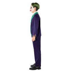 Déguisement dinosaure triceratops vert bébé