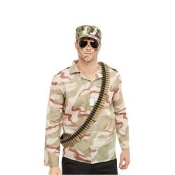 Boucles d'oreilles lumineuses phosphorescentes vertes adulte