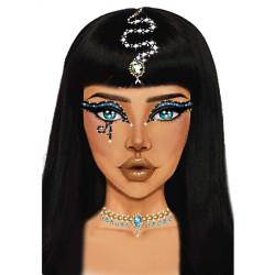 Perruque Cléopâtre femme