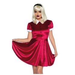 Gants noirs impression squelette - adulte - la paire