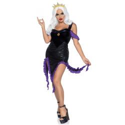 Costume adulte fantôme noir avec masque - taille unique