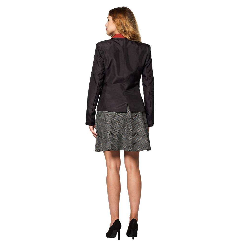 Masque adulte latex intégral clown bouche cousue avec cheveux