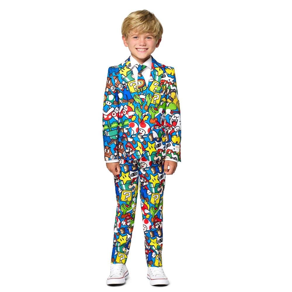 Masque adulte latex intégral clown de l'enfer avec cheveux