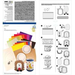 Perruque glamour orange femme