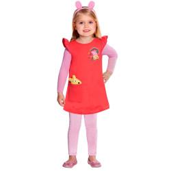 Perruque cheveux longs, noirs & blancs