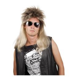 Chapeau feutre noir Melon.