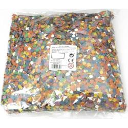 Cheveux et barbe longue blanche de magicien.
