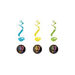 Lampion cylindre blanc - par 1