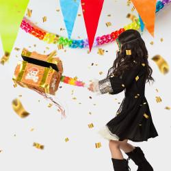 Gants blancs du Père Noël