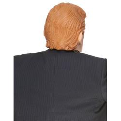 Perruque de hippie marron adulte