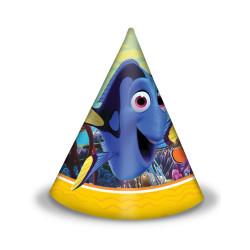 5 chapeaux en papier luxe dorés