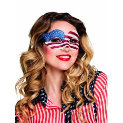 Perruque fluo longue rouge à frange femme