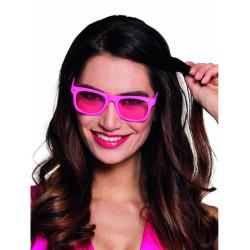 Perruque fluo longue orange Femme