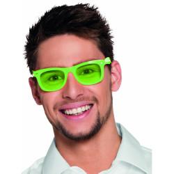 Perruque fluo longue verte fluo femme