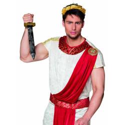 Mini chapeau haut de forme vert à paillettes avec voilette