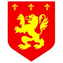 Déguisement moine squelette...