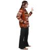 Masque intégral d'ogre menaçant cheveux longs adulte Halloween