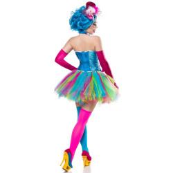 Déguisement vampire violet...