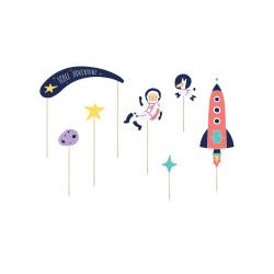 Décorations pendantes disco