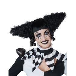 Déguisement pirate velours bleu et prune femme