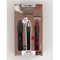 Loup peluche panda adulte